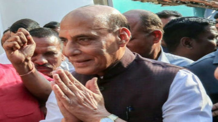 rajnath-singh-arrives-in-chhattisgarh
