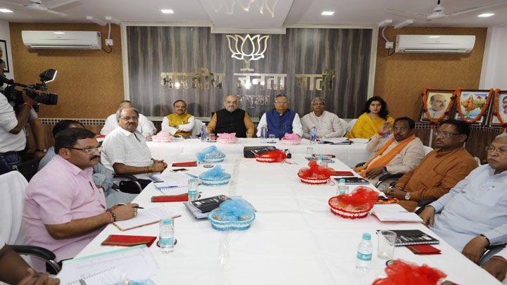 Amit-Shah-held-Core-Committee-meet