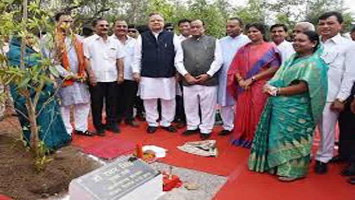chief-minister-dr-raman-singh-planted-rudraksh-tree