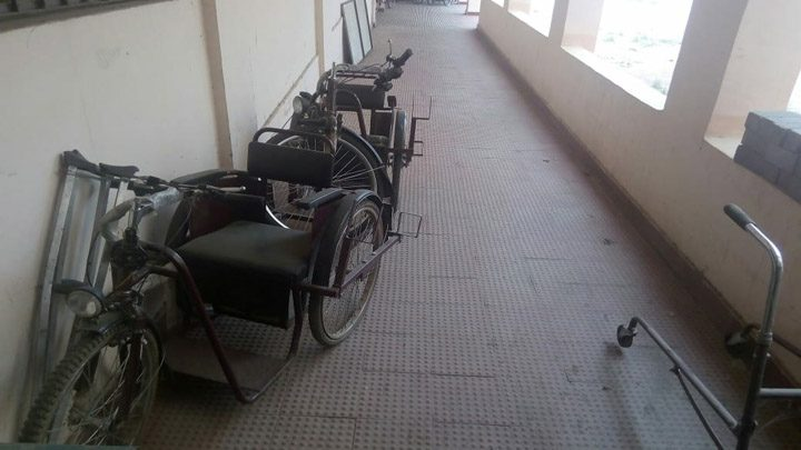 Trouble getting into motorized cycle00