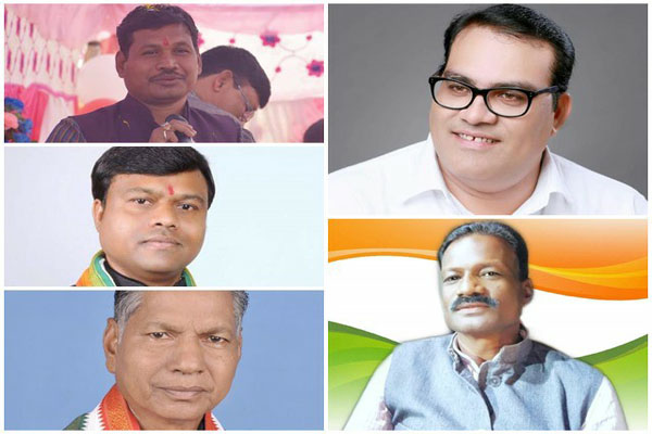 Congress announces names of five Lok Sabha candidates