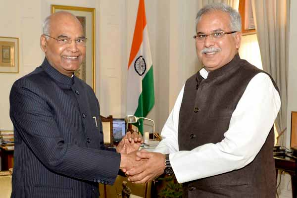 Chief Minister meets President